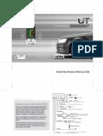 Manual Vehiculo Alarma Ut5000a Doble via Instalador (2)