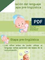 Presentacion Etapa Prelinguistica Este