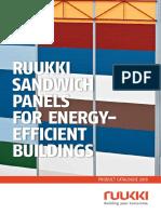 Ruukki sandwich panels