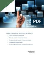 Competencias Para La Formación en Entornos Tecnológicos