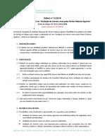 Edital SindPFA nº 3/2018 (retificado) - Seleção de artigos para Livro sobre avaliação de imóveis rurais