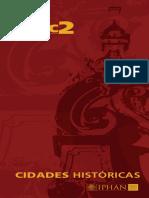 Folder PAC 2 Cidades Historicas