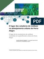 O Lugar Dos Catadores de Resíduos (Porto Alegre)