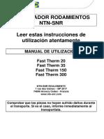 Manuel Utilisteur Fast Therm - FR - V1 ES
