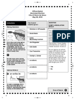 Havre de Grace Ballot Printer.2018 Adam Rybczynski