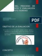 Diseño Del Proceso de Seguimiento y Evaluación Del producto