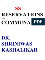 Stress and Communal Ism Dr. Shriniwas Kashalikar