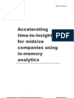 Accelerating Time to Insight
