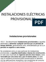 Instalaciones provisionales (ppt)