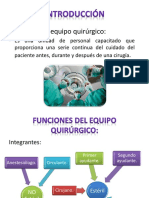 Funciones Del Equipo Qx