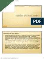 07. Planeamiento de Recursos de Manufactura