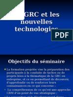 Ppt La GRC Et Les Nouvelles Technologies