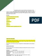 Administración y Puntuación Escala de Ansiedad de Spence