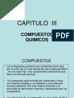 Compuestos Quimicos .Cap. III