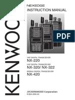 Radio Kenwood NX-220 Type-I
