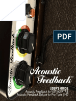 Acoustic Feedback Manual