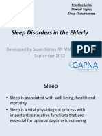 Sleep Disturbances SleepDisturbancesinElderly