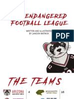 The Endangered Football League