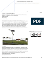 1) Postes de Iluminação Fotovoltaicos _ Infraestrutura Urbana