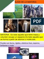 Naturaleza DEL ÁTOMO I