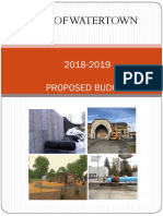 Proposed FY 2018-19 Budget
