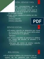 Status y Rol Social