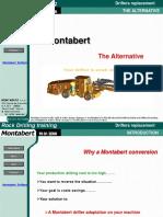 PERFORADORA ConversionMontabert