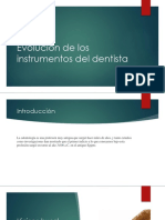 Evolucion Instrumentos Dentista