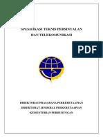 Spesifikasi Teknis Sinyal Dan Telekomunikasi Kereta API