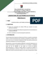 Electronica de Potencia Practica 1 2017B