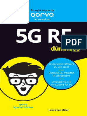 5G RF for Dummies | 4 G | Internet Of Things