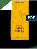 Sintesis de Historia Antigua. Jose Carlos Astolfi.