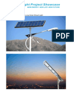 Solar Street Light Projects Presentation