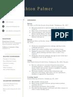 ashton palmer resume