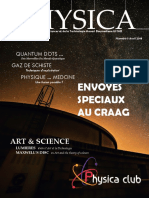 Physica magazine Avril 2018