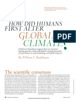 HOW DID HUMANS FIRST ALTER GLOBAL CLIMATE 2005 RUDDIMAN.pdf