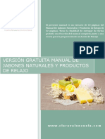 Clara Valenzuela Version Gratuita Manual Jabones Naturales Productos Relajo