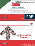 Sesión 5 - Dirección de Personas