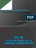 CLASE 8 - DECRETO LEY 276 LEY DE BASE DE CARRERA ADMINISTRATIVA.pptx