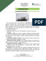 Constituição Do Sabonete