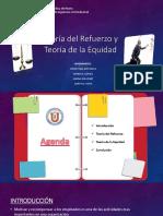 Teoría Del Refuerzo y Teoría de La Equidad (1) (2)