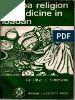 240234784 Yoruba Religion and Medicine in Ibadan