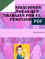 Mariana Flores Melo - Organizaciones españolas que trabajan por el Feminismo
