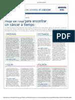 Las Últimas Noticias Detectar Cancer a Tiempo
