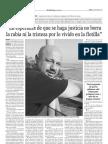 Entrevista en el periódico El Adelanto de Salamanca