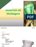 Materiais de Moldagem