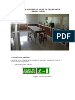 Normas de Seguridad en El Laboratorio 1