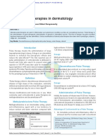 Steroid Pulse Therapies in Dermatology