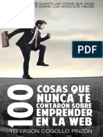 100 cosas que nunca te contaron sobre emprender en la web - Lizhet Cogollo Pinzón