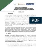Bases de Postulacion Ciudadanos Ecuatorianos 2018